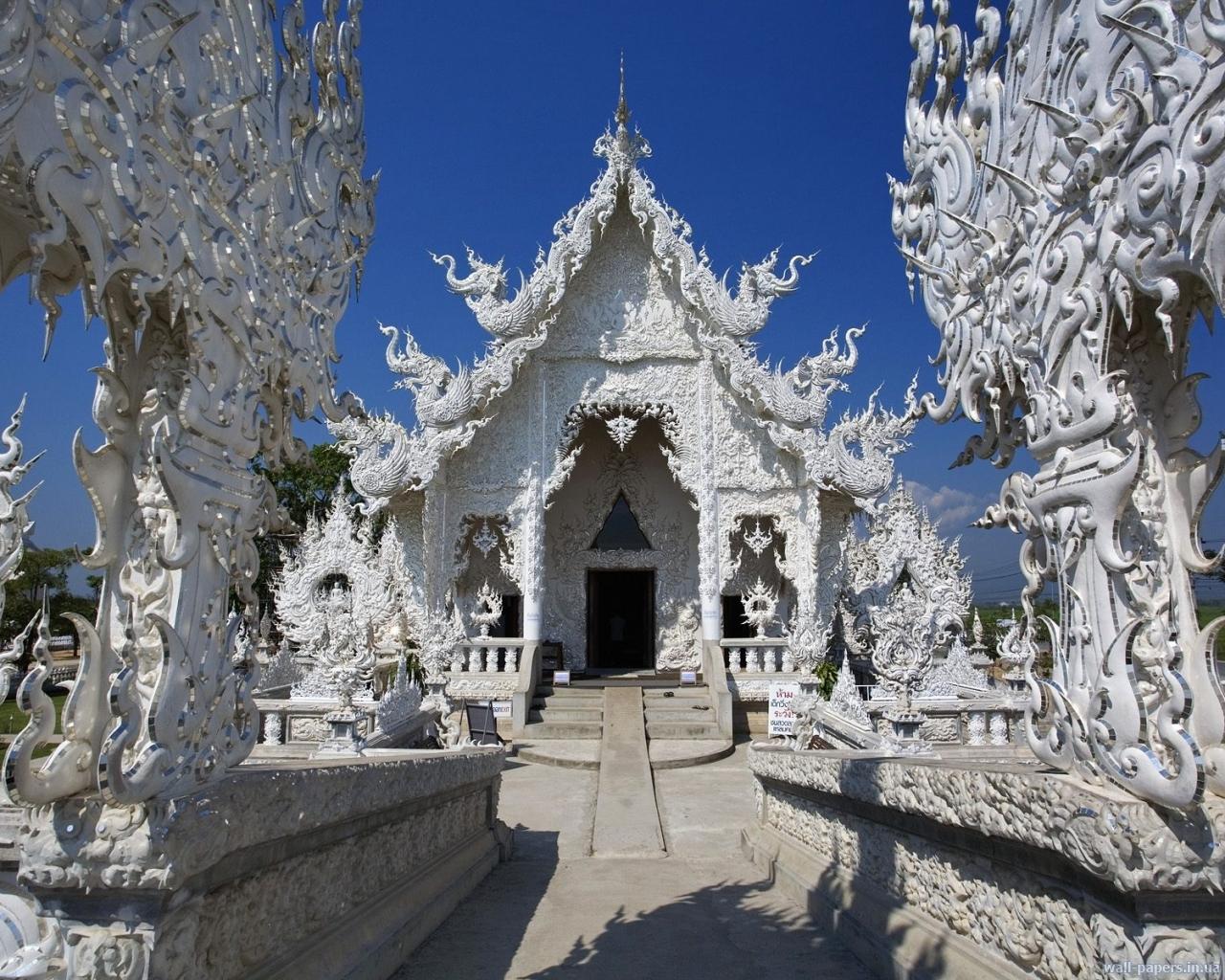 Храм Wat Rong Khun Temple | Тайланд | Турагентство «Мультипасс» | 8 (499) 653-6300