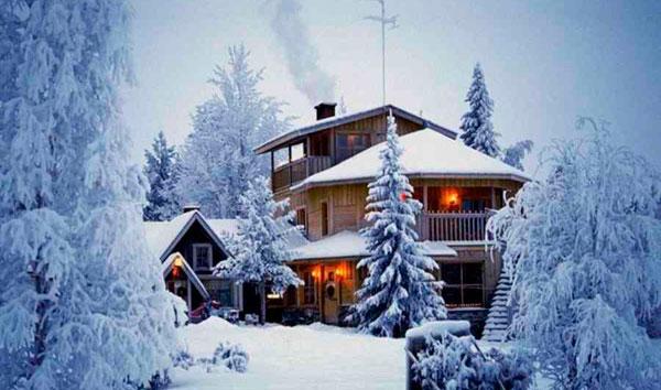 Тур на новый год в Финляндию
