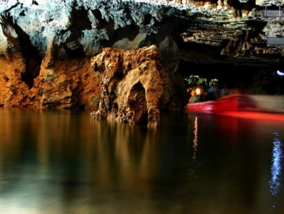 Iran Travel Information : Alisadr-cave Travel guide