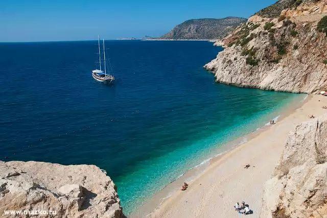 Туры в Турцию | Пляж Капуташ | Турагентство Мультипасс | 8 (499) 653-6300