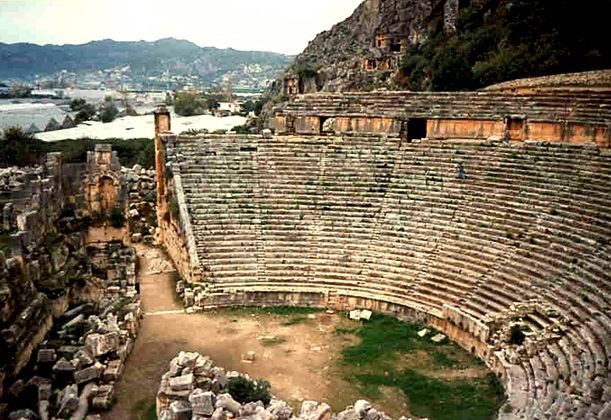 Туры в Турцию | Амфитеатр | Турагентство Мультипасс | 8 (499) 653-6300