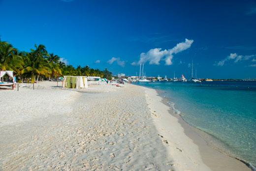 Пляж Плайя Норте | Исла Мухерес | Турагентство «Мультипасс» | 8 (499) 653-6300