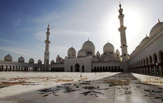 Дубай | Мечеть шейха Зайде | Туристическое агентство Мультипасс | (499) 653-6300
