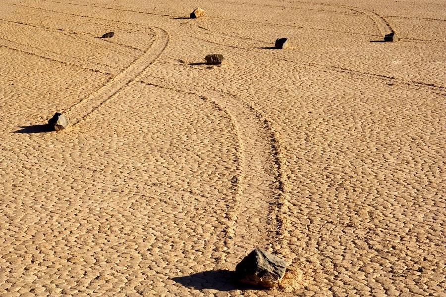 3-Блуждающие камни в Долине смерти