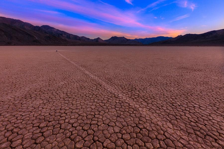 4-Блуждающие камни в Долине смерти