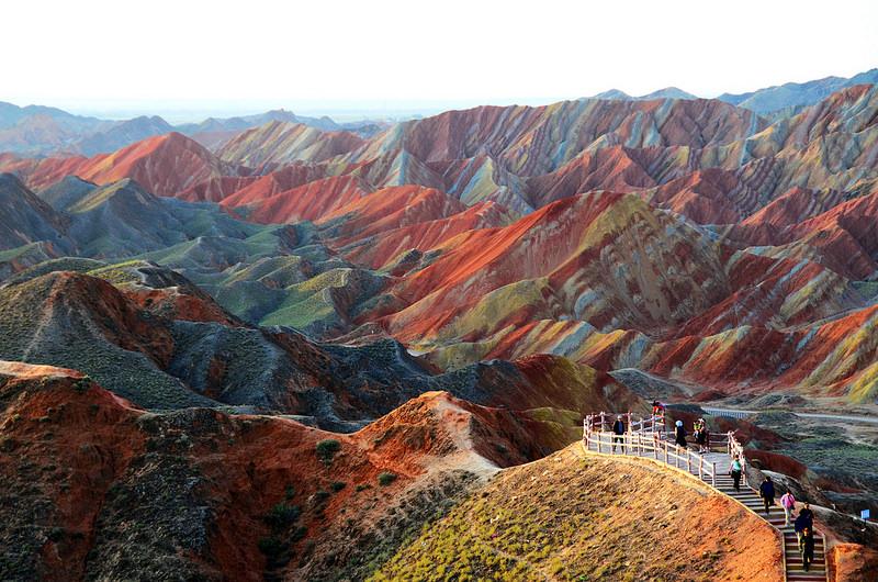 Цветные скалы Чжанъе | Китай | Турагентство Мультипасс | 8 (499) 653-6300