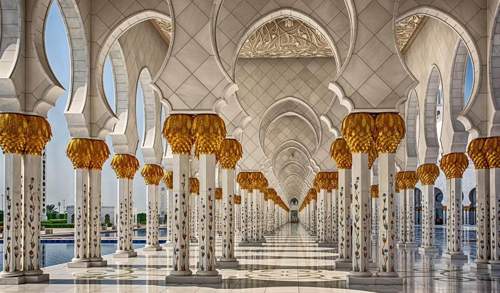 Мечеть шейха Зайда | ОАЭ | Турагентство Мультипасс | 8 (499) 653-6300